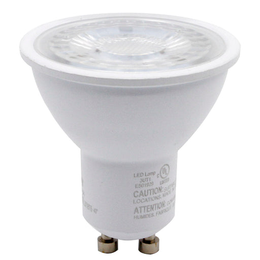 DawnRay LED GU10, 6.5W, 500 Lumens, 3000K,Warm White, Dimmable ,3 Years Warranty - Consavvy