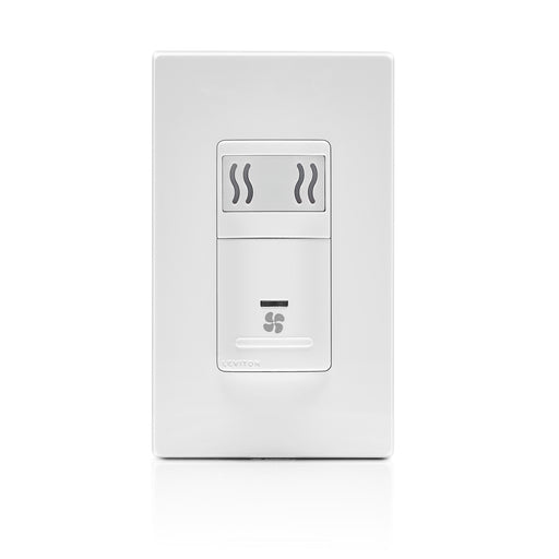 Leviton Decora In-Wall Humidity Sensor & Fan Control, 3A, Single Pole(Plate not Included)