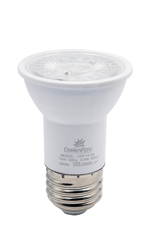 DawnRay LED PAR16, 6.5W, 500 Lumens, 3000K, Warm White, Dimmable ,3 Years Warranty - Consavvy