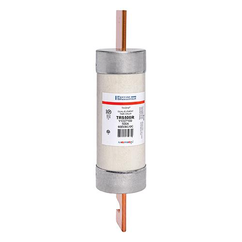 Mersen Class RK5 Fuse, 500 Amp, 600V, Ferraz Shawmut TRS500R, TRS500A, Tri-Onic Low Voltage Fuse.
