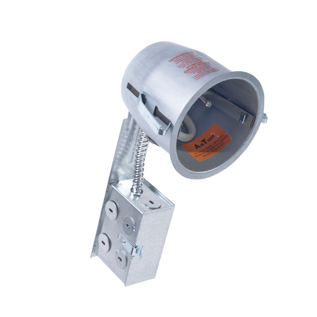 "4"" Retrofit LED Can Air Tight IC Housing LED Recessed Lighting, E26 Screw in Base - Consavvy"