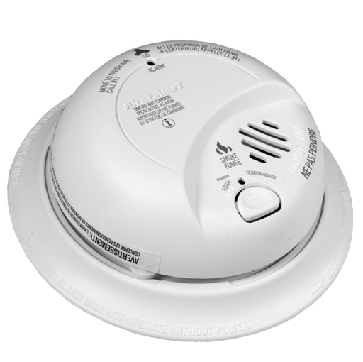 BRK 120V AC Smoke Alarm with battery back-up - 9120BA - Consavvy