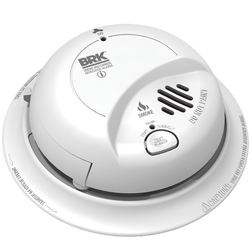 BRK 120V AC Smoke & Carbon Monoxide Alarm with battery back-up -SC9120BA - Consavvy