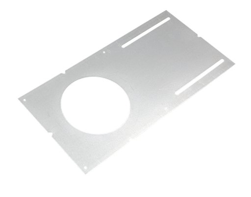 "4"" Mounting Plate (No Lip) for 4"" retrofit housings and 4"" Slim Panels With scales - Consavvy"