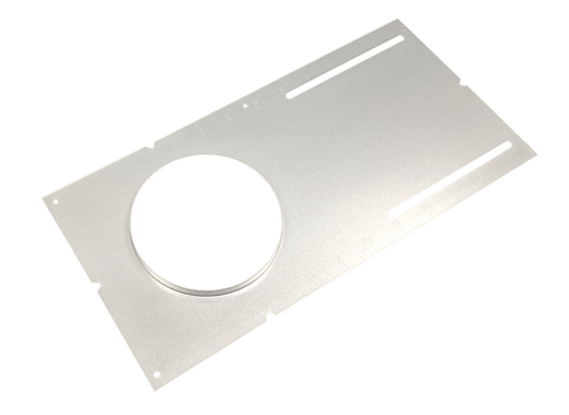 "4"" Mounting Plate (With Lip) for 4"" retrofit housings and 4"" Slim Panels With scales - Consavvy"