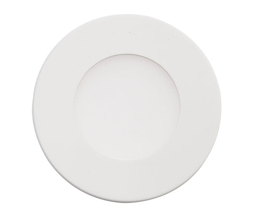 Ultra Slim LED DC 24V Under Cabinet Puck Light, Surface Mount or Recessed Mount, 4000K Cool White, ETL Listed - Consavvy