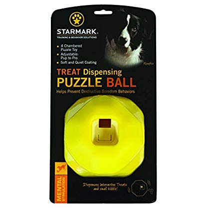 Starmark Treat Dispensing Puzzle Ball