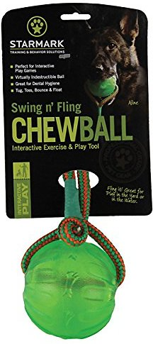 Starmark Swing & Fling Chew Ball M/L