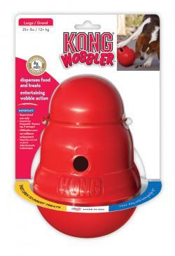 KONG Wobbler dog treat dispenser buy now at Orange Pet Dog Training