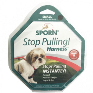 Sporn Stop Pulling Harness