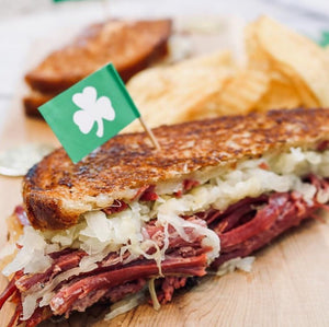"The ""Reuben"" Grilled Cheese"