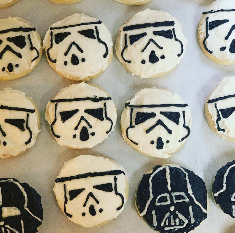 Storm Trooper or Vader Cookie