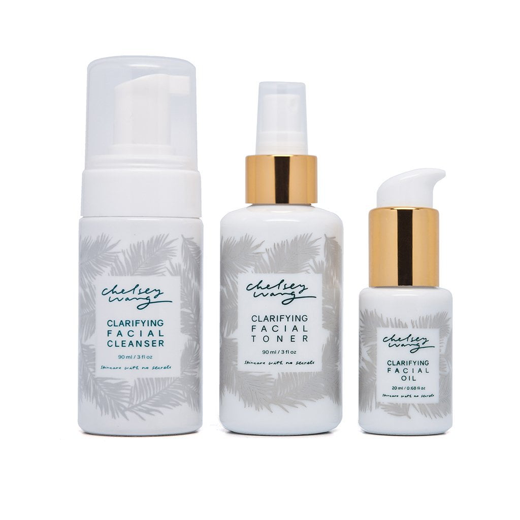 The Clarifying Essential Set for Oily or Combination Skin