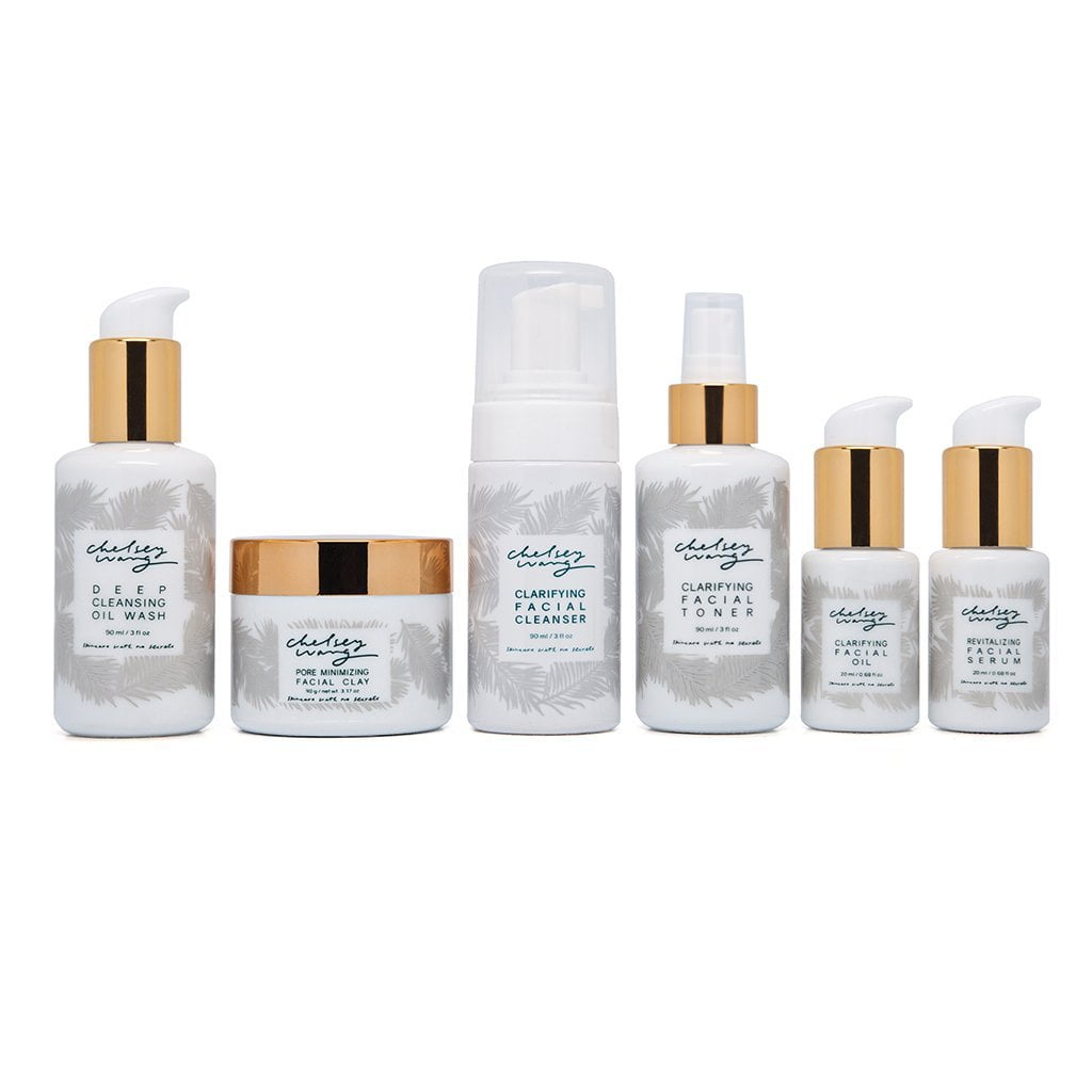 The {Clarifying} Flawless Skin Set for Oily or Combination Skin