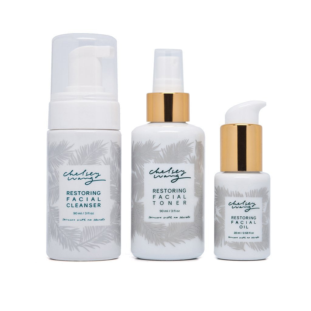 The Restoring Essential Set for Normal to Slightly Dry Skin