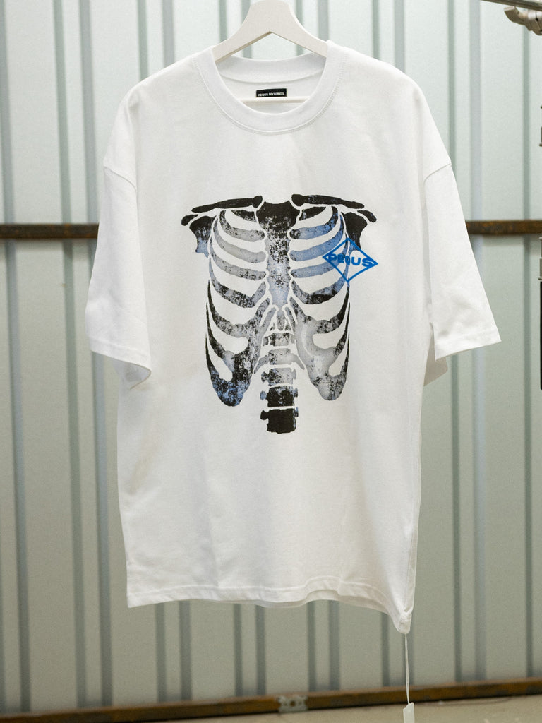 Skeleton T-Shirt / White
