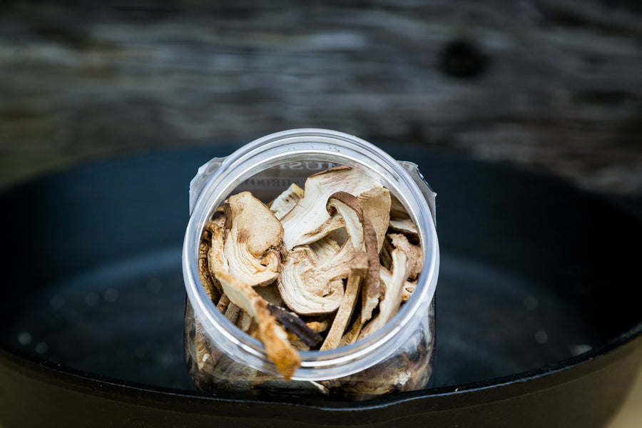 Ceps/Porcini Mushrooms (Boletus Edulis) Fresh and Dried