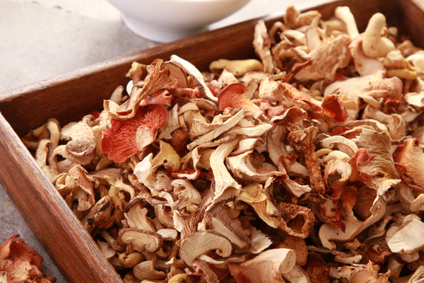 dried smithy mushrooms rehydration instructions