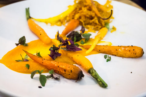 carrots and cumin puree