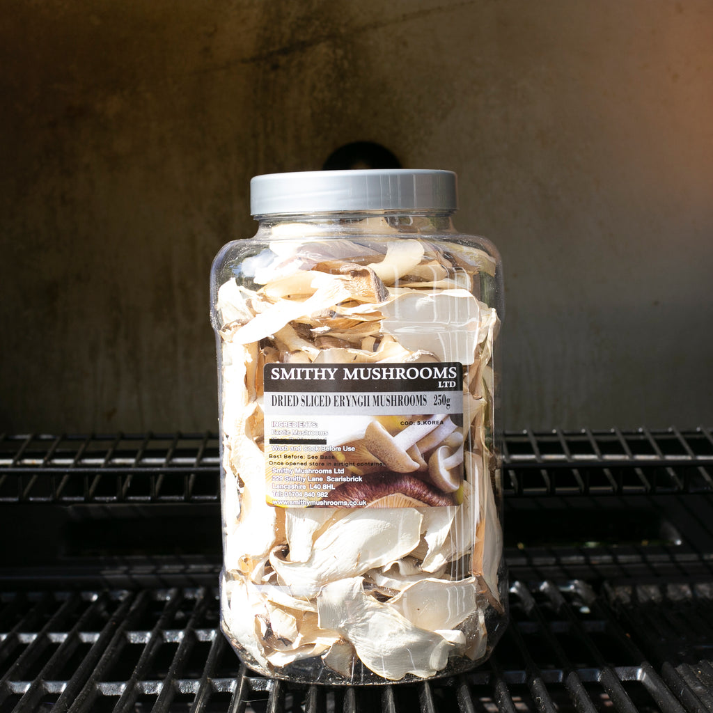Dried Sliced Eryngii (King Oyster) Mushrooms
