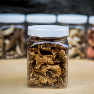 Dried Wild Girolle Mushrooms (Golden Chanterelle)