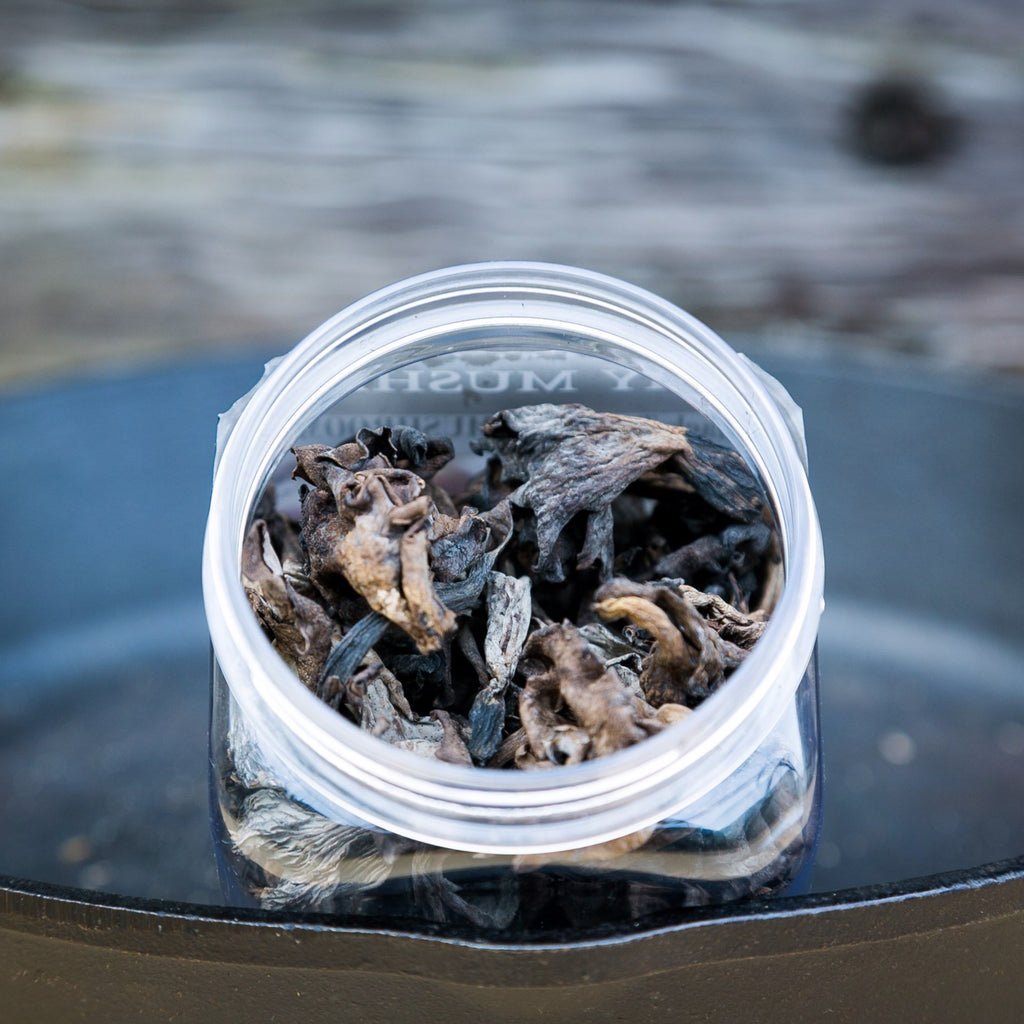 Dried Black Trumpet Mushrooms