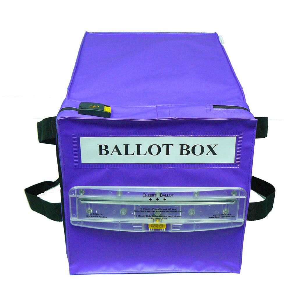 Ballot Box - Accepts Tamper Evident Seal - Security4Transit