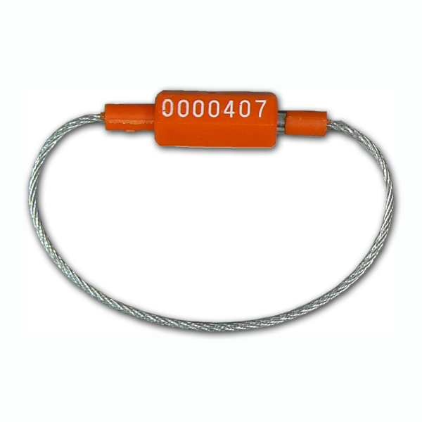 Cable Seal (Orange) - 220mm (100 seals) - Security4Transit