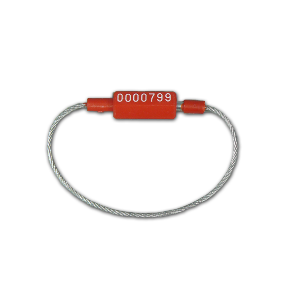 Cable Seal (Various Colours) - 220mm (100 seals) - Security4Transit