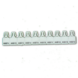 Tebco UVM Seals - White (1000 seals) - Security4Transit