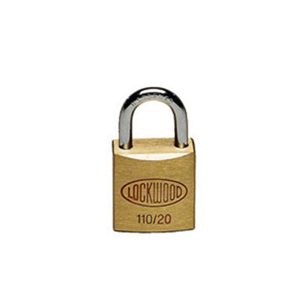 Brass Padlock - 20mm - Security4Transit