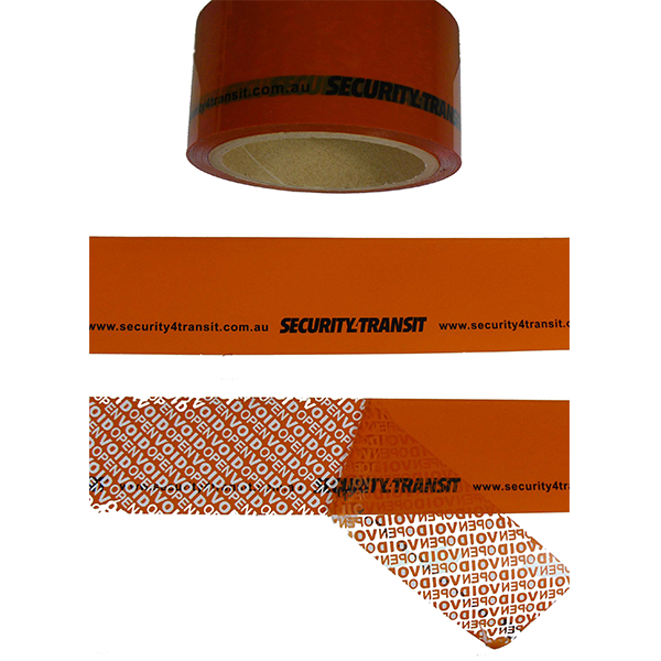Tamper Evident Security Tape - Continuous - Security4Transit
