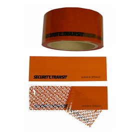 Tamper Evident Security Tape - Perforated - Security4Transit