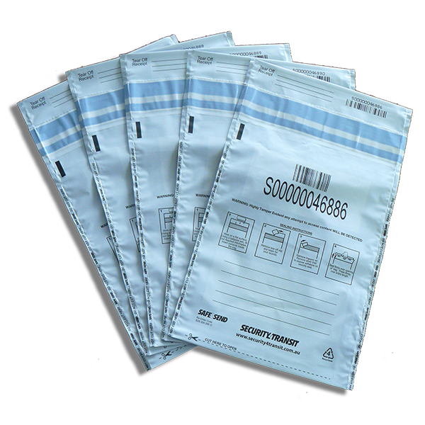 Security Bags (Large Size - 500 bags) - Security4Transit