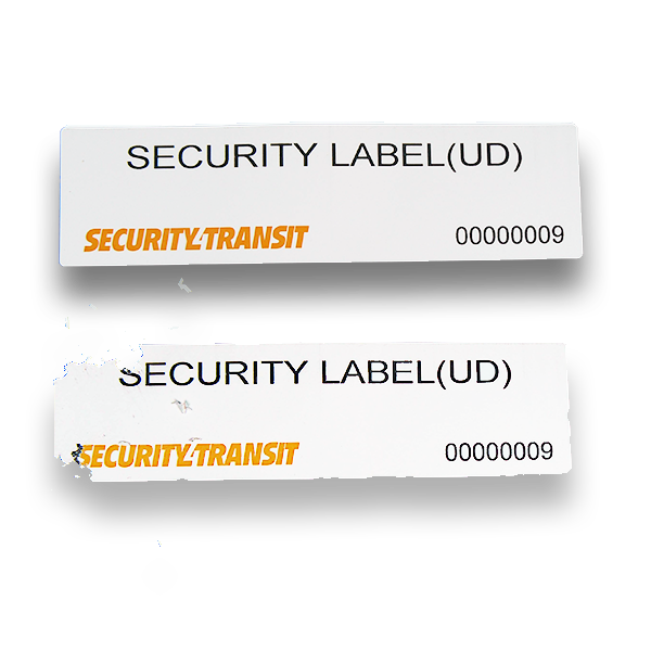 Security Label Ultra Destructible (roll of 500 labels) - Security4Transit