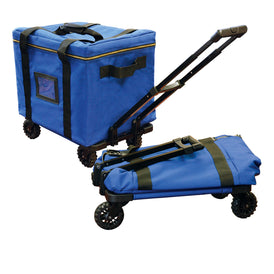 Rolling Supply Bag with Keyless Security™ and Heavy Duty Wheels - Security4Transit