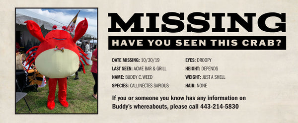 FOUND: BUDDY C. WEED