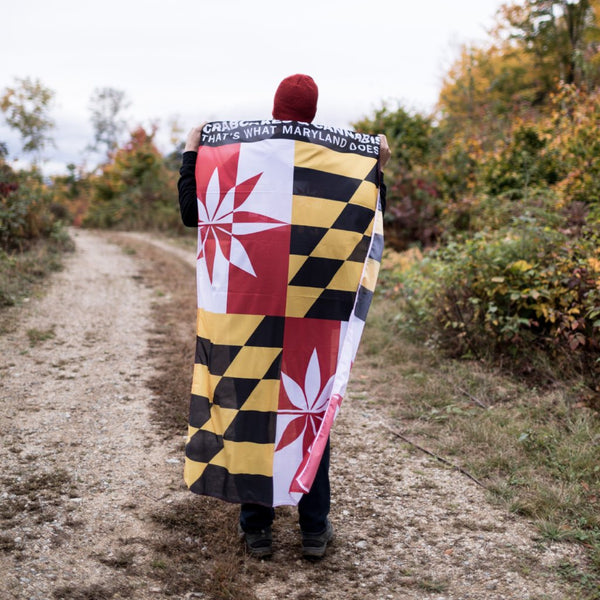 C&C Maryland Festival Flag