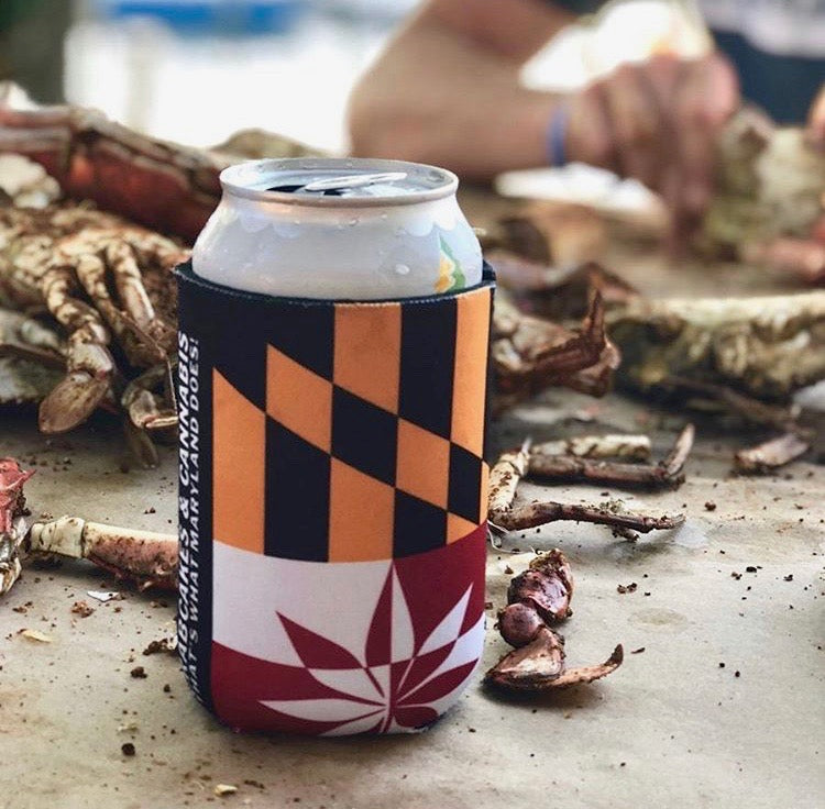 C&C Maryland Flag Koozie