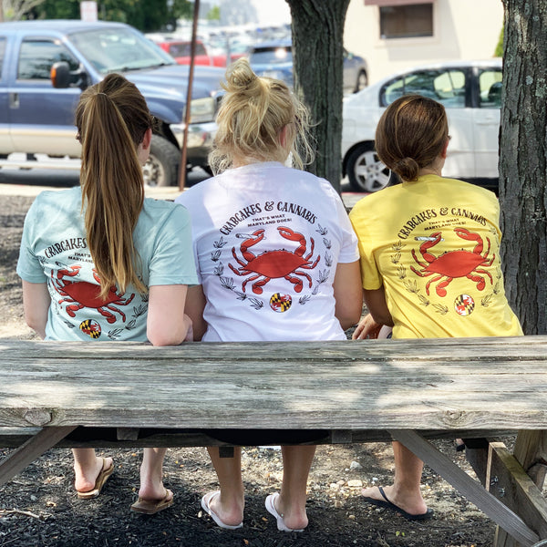 C&C Crab Emblem Tee (Available in 3 Colors)