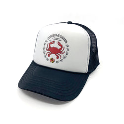 Crab Emblem Trucker Hat