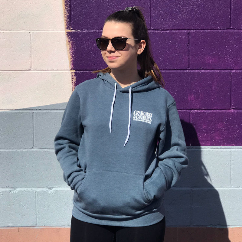 C&C Heather Slate Pullover