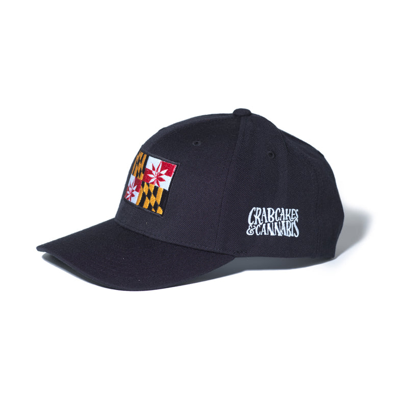 CCC Snapback - Crabcakes & Cannabis