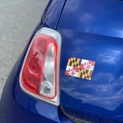 MD Flag Magnet