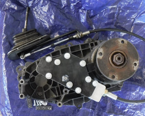Borg Warner Transfer Case, Electric To Manual Shift Conversion