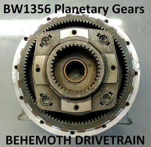 Provide and Install Good Used Planetary Gear Set, for BW1356 Style Kits