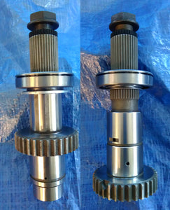 Juggernaut 35 Spline Output Shafts For The NP205 Transfer Case