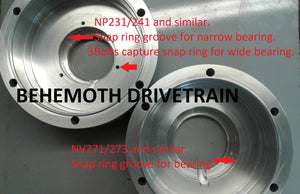Universal Strong Box Underdrive For NP231/241 And Similar, and NV271/273 And Similar, Standard Length, DIY Kit