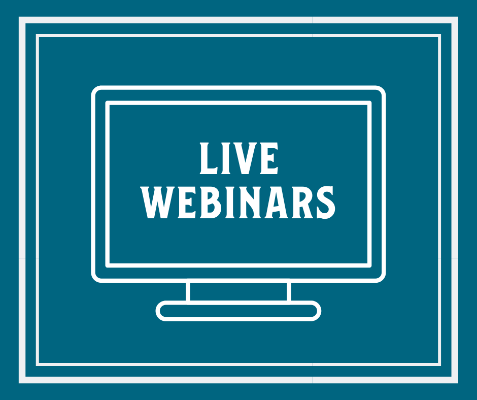 LIVE WEBINARS | 7-week Reboot | Starting MONDAY January 18th, 2021