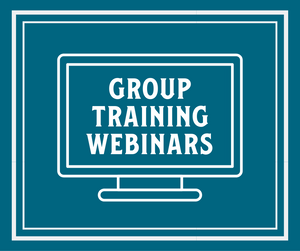 GROUP TRAINING WEBINARS | 21 workouts | Starting WED January 20th, 2021